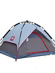 Naturehike 3-4 человека Световой тент Двойная Палатка Однокомнатная Автоматический тент Влагонепроницаемый Хорошая вентиляция