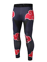 Hommes Slim Joggings Pantalon,Sexy / Street Chic / Actif Décontracté / Quotidien / Soirée / Sportif Imprimé Taille Normale Elasticité