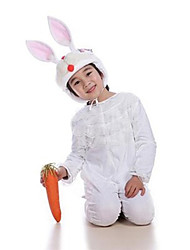 Cosplay Costumes Animal Festival/Holiday Halloween Costumes White Solid Leotard/Onesie / More Accessories Christmas Kid Terylene