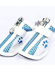 Gato Cachorro Sapatos e Botas Fofo Blocos de cor Cor Aleatória