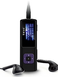 Aigo MP3 MP3 / WMA / WAV Bateria Li-on Recarregável