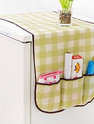 Refrigerator Cover Table Storage Cloth Easy Use (Random Colours)