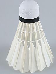 Badminton BallesPlastique) -Faible résistance de l'air Haute résistance Haute élasticité Durable