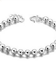 Bracelet Chain Bracelet Sterling Silver Party Jewelry Gift Silver,1pc