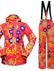 Hiking Tops / Bottoms / Clothing Sets/Suits Women's / Men's Waterproof / Thermal / Warm / Windproof / Insulated / ComfortableSpring /