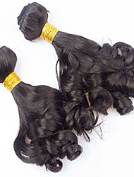 Vinsteen 3 Pieces 300g 8-30inch Nice texture funmi curly Human Hair Weaves Brazilian Texture  Human Hair Extensions shiny Hair wefts Bundles