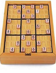 Jogo de Tabuleiro Jogo de xadrez Brinquedo Educativo Hobbies de Lazer Quadrangular Madeira Cáqui Para Meninos Para Meninas