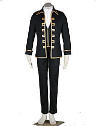 Gintama Anime Cosplay Costumes Coat / Vest / Shirt / Pants / Cravat Male