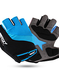 Gloves Sports Gloves Unisex Cycling Gloves Spring Autumn/Fall Winter Bike Gloves Shockproof Breathable Wearable Quick DryFingerless