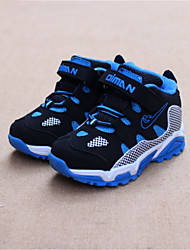 Boy's Athletic Shoes Winter Comfort Customized Materials Casual Flat Heel Blue Hiking