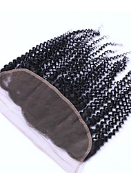 13*2 lace frontal good quality better than others human hair kinky curly 8-24inch for women