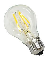 e27 4w 380lm 5500-6000K levou núcleo de tungstênio lâmpada branca globo (ac 220 -240v)