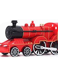 Educational Toy Model & Building Toy Train Metal Red For Boys / For Girls