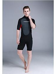 Sportif Homme Combinaisons Tenue de plongée Compression Costumes humides 2.5 à 2.9 mm Noir S M L XL XXL Plongée