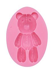 Bear Silicone Mold Fondant Cake Decoration Mold Silicone Cupcake Mould Fondant Decoration Tool SM-053