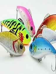 "1 pcs Hard Bait / Fishing Lures Hard Bait Assorted Colors 19 g/3/4 oz. Ounce mm/2-7/8"" inch,Hard Plastic Bait Casting / General Fishing"