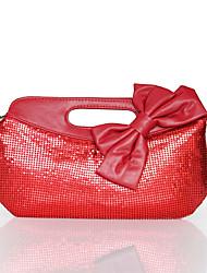 L.WEST Women's Handmade Bowknot Evening Bag