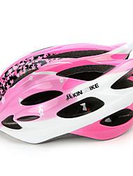 Unisexo Moto Capacete N/D Aberturas Ciclismo Ciclismo de Montanha Outros Tamanho Único EPS + EPU Rosa