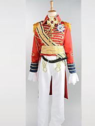 Costumes de Cosplay Costume de Soirée Soldat/Guerrier Costumes de carrière Fête / Célébration Déguisement d'Halloween Rouge Mosaïque