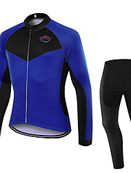 WOLFKEI Spring/Summer/Autumn Long Sleeve Cycling JerseyLong Tights Ropa Ciclismo Cycling Clothing Suits #WK98