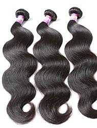 "3 Pcs /Lot 8""-30""7A  Virgin Indian Hair Body Wave Human Hair Weaves"