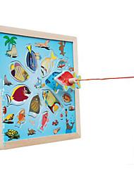Brinquedos de Faz de Conta Novidades Quadrangular Madeira Arco-Íris Para Meninos Para Meninas