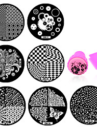 11 Manucure Dé oration strass Perles Maquillage cosmétique Nail Art Design