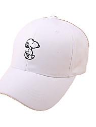 Cap/Beanie / Hat Protective / Comfortable Unisex Leisure Sports / Baseball Spring / Summer White / Pink / Black