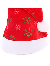 Christmas Hat High Bronzing Christmas Cap Snow Cap Stars The Moon Cap For Christmas