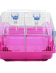Rongeurs Cages Plastique Rose