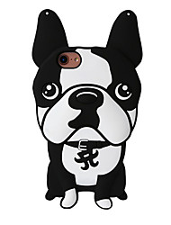 3D New Bulldog Silicone Case for iPhone 7 7 Plus 6s 6 Plus SE 5s 5