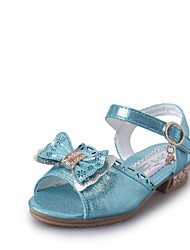 Girl's Sandals Spring Fall Winter Comfort PU Casual Low Heel Others Blue Brown Pink Red Other
