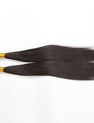 2Bundles 12-28inch Natural Color Hair Weaves Brazilian Texture Straight Top Quality Unprocessed Brazilian Virgin Hair 100% Human Hair
