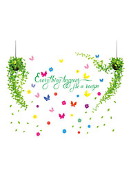 Wall Stickers Wall Decals Style Fresh Basket PVC Wall Stickers