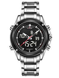 Man NAVIFORCE Leisure Super Complex Function Timing Multifunctional Waterproof Watch