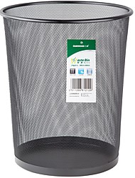 Sunwood®  1212 Wire Mesh Series Large Basket/Trash  Black
