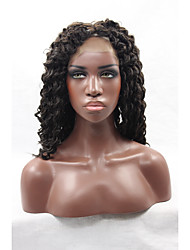 Afro Kinky Curly Wig Heat Resistant Synthetic Wigs Long Blonde Curly Wig