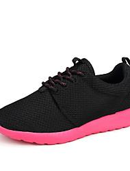 Tênis Tênis de Caminhada Sapatos Casuais Unisexo Anti-Escorregar Anti-Shake Almofadado Ventilação Vestível Respirável Anti-desgaste Malha
