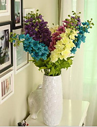 Austin Delphinium In Silk Cloth Artificial Flower For Home Decoration(1Piece)
