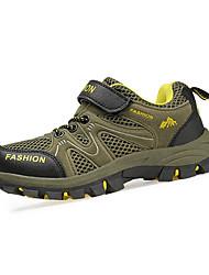 Da ragazzo-scarpe da ginnastica-CasualPiatto-PU (Poliuretano)-Marrone scuro Verde scuro