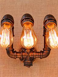 ac 220-240 120 e27 rustique / lodge fonctionnalité peinture pour l'ampoule incluse, mur de lumière ambiante bougeoirs applique murale