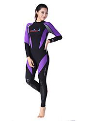 Dive & Sail® Femme Collants Combinaisons Combinaison de Plongée Hauts/Tops Tenue de plongéeEtanche Respirable Garder au chaud Séchage
