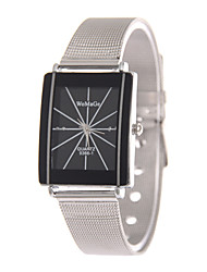 Men's Women's Wrist watch Quartz Alloy Band Silver Brand