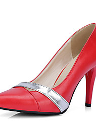 Women's Shoes Stiletto High Heel Pointed toe Color Contrast Slip On Pump More Color Available
