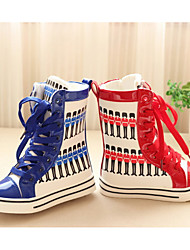 Girl's Boots Spring Fall Winter Other PU Outdoor Casual Flat Heel Split Joint Other