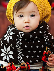Unisex Knitting Winter Going out/Casual/Daily Boy And Girl Warmth Snowflake Neckerchief Children Scarf