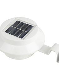 joyshine 3-LED Solarenergie Lampe Außenzaun Hofmauer Gosse Weg Gartenlicht