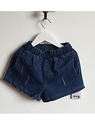 Girl Casual/Daily Solid Shorts-Rayon Summer Spring Fall