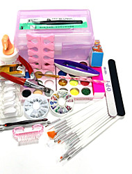 20Sets Packing Quantity Nail Kit Nail Art Decoration Type Style Nail Art DIY Box