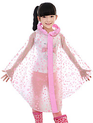 Hiking Raincoat/Poncho / Winter Jacket Kid's Waterproof / Quick Dry / Rain-Proof Spring / Summer / Fall/Autumn / Winter PVC Pink / BlueM